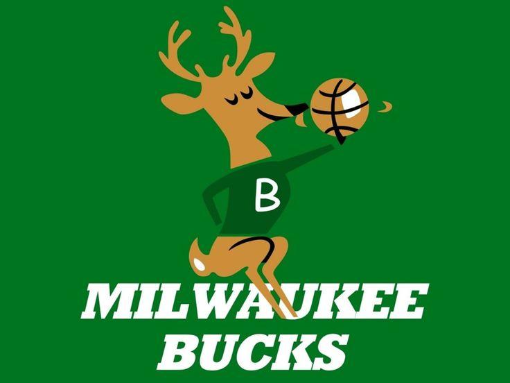 old milwaukee bucks logo
