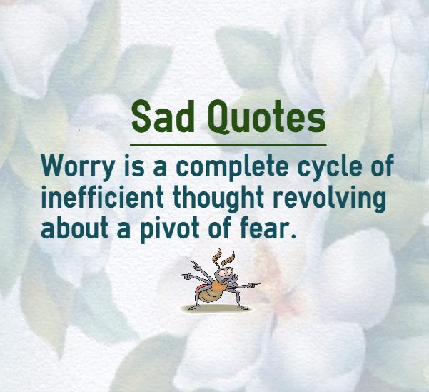 Sad Quotes About Anxiety: 17 Best Quotes About Fear On Pinterest
