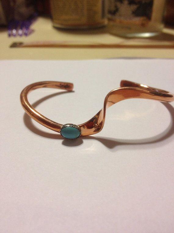 Copper Circuit Board Cuff Bracelet