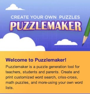 Create word searches, crossword puzzles, and more, which could help to improve learners' vocabulary!