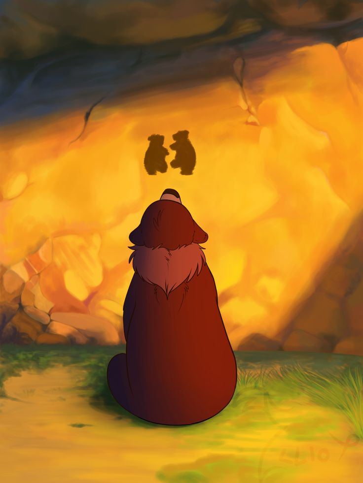 Brother Bear (im pretty sure this is disney...? wait no or is it dreamworks? D:)