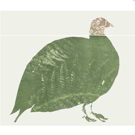 Country Living / The Estate Yard / Green Grouse Greetings Card