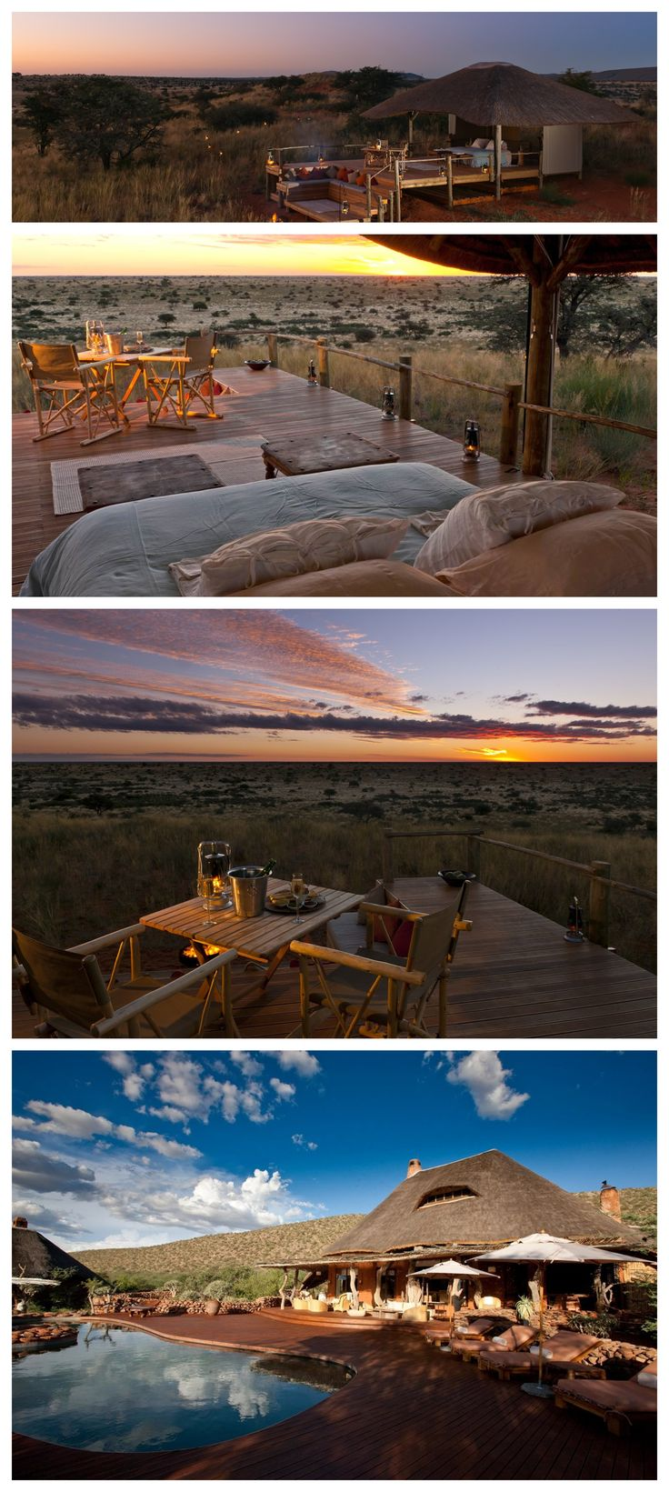 The ultimate in luxury game reserves, Tswalu Kalahari Lodge is in the southern Kalahari, in South Africa's Northern Cape Province