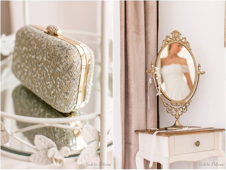 Epic Brautbl te Braut Brautkleid Brautmode Brautmodeladen Clutch goldener Spiegel goldener