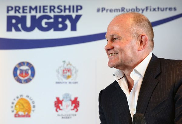 Andy Robinson Photos Photos - Bristol Rugby Director of Rugby, Andy Robinson talks to the media during the 2016-17 Aviva Premiership Rugby Season fixtures announcement at BT Tower on July 7, 2016 in London, England. - 2016-17 Aviva Premiership Rugby Season Fixtures Announced