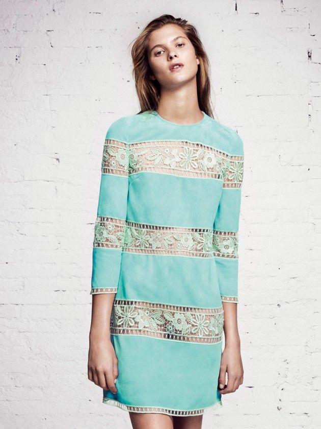 Cross Dress With Embroidery Spring/summer Blumarine daWBm9