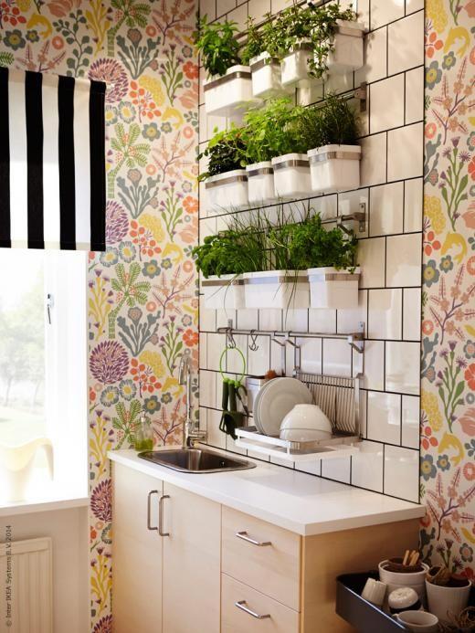 Kryddvägg till köket från Ikea