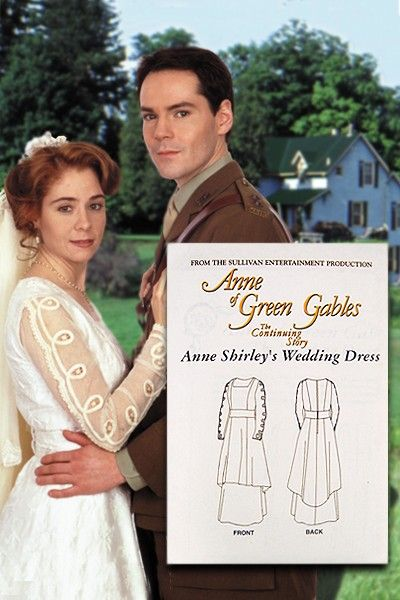 I love to watch Anne of Green Gables and I love her wedding dress pattern!  @Moriah Hensler