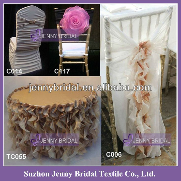 HOT SALE Fancy Chiavari chair covers Wedding Ruffled Chair Covers, View ruffled chair covers, JENNY BRIDAL Product Details from Suzhou Jenny...