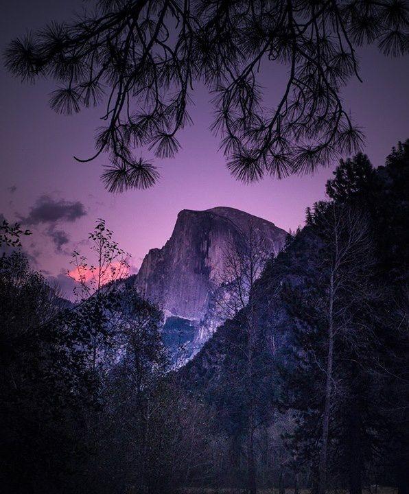 Half Dome at Sunset, Yosemite National Park, California