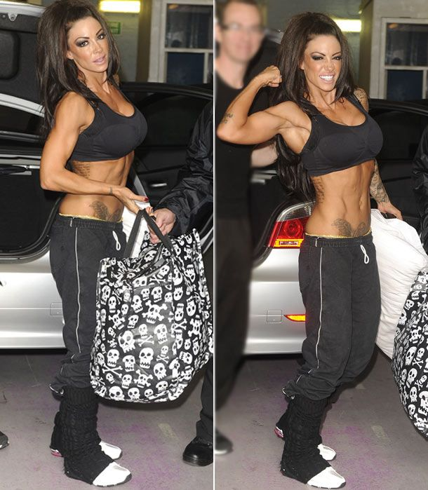 OMG. Jodie Marsh. I want to look just like her!!! My motivation
