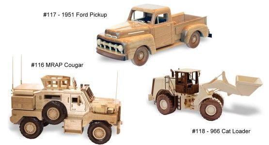 Wooden Toy Plans, Patterns, Models and Woodworking Projects
