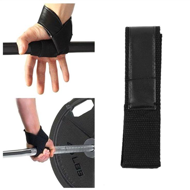Weight Lifting Hand Wrist Bar Strap Brace