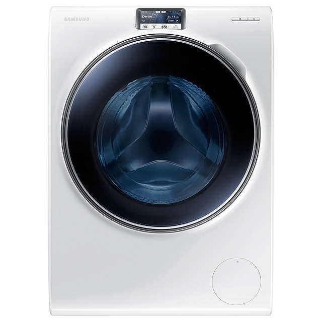 BuySamsung WW10H9600EW Freestanding Washing Machine, 10kg Load, A+++ Energy Rating, 1600rpm Spin, Stainless Steel Online at johnlewis.com