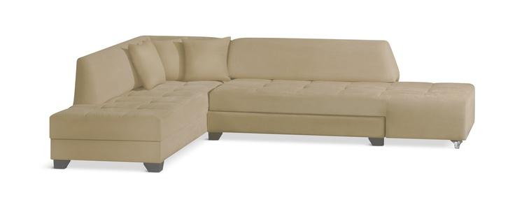 Γωνιακός καναπές που μετατρέπεται εύκολα σε διπλό κρεβάτι.Διάσταση:Μ290cmXΠ:216cmΧΥ:80cm