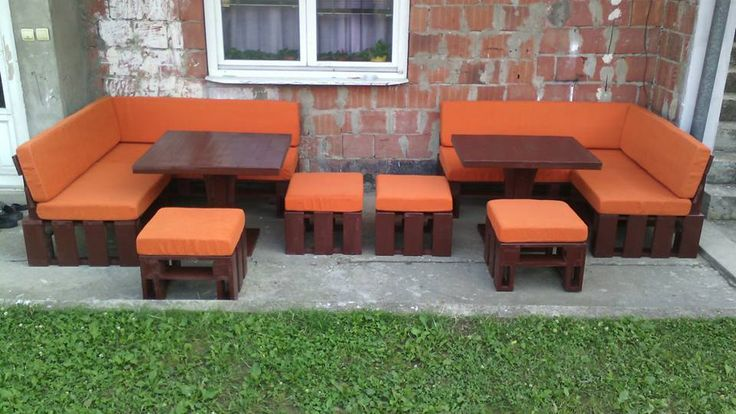 DIY Pallet Porch Sofa Set | 99 Pallets