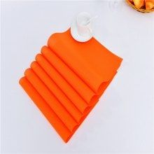 Six Tablets Eat Mat Western Insulation Pad Rectangle Japanese Contracted Europe Type PVC Table Mat Cup Mat Bowl Dish Mat