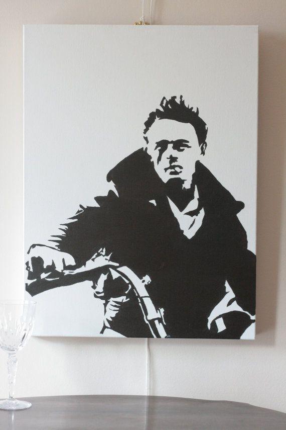 James Dean Pop Art by CliffHangingArt on Etsy