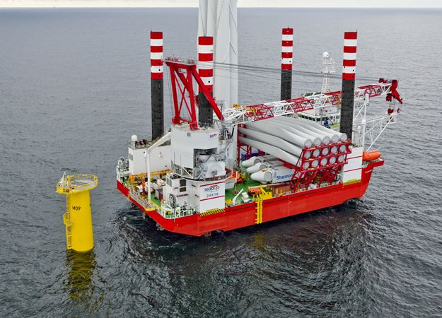 Seajacks Zaratan Offshore Jack Up Vessel Courtesy