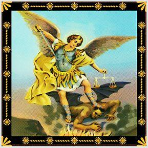 São Miguel Arcanjo - Quadrinhos confeccionados em Azulejo no tamanho 15x15 cm.Tem um ganchinho no verso para fixar na parede. Inspirados em santos católicos. Para entrar em contato conosco, acesse: www.babadocerto.com.br