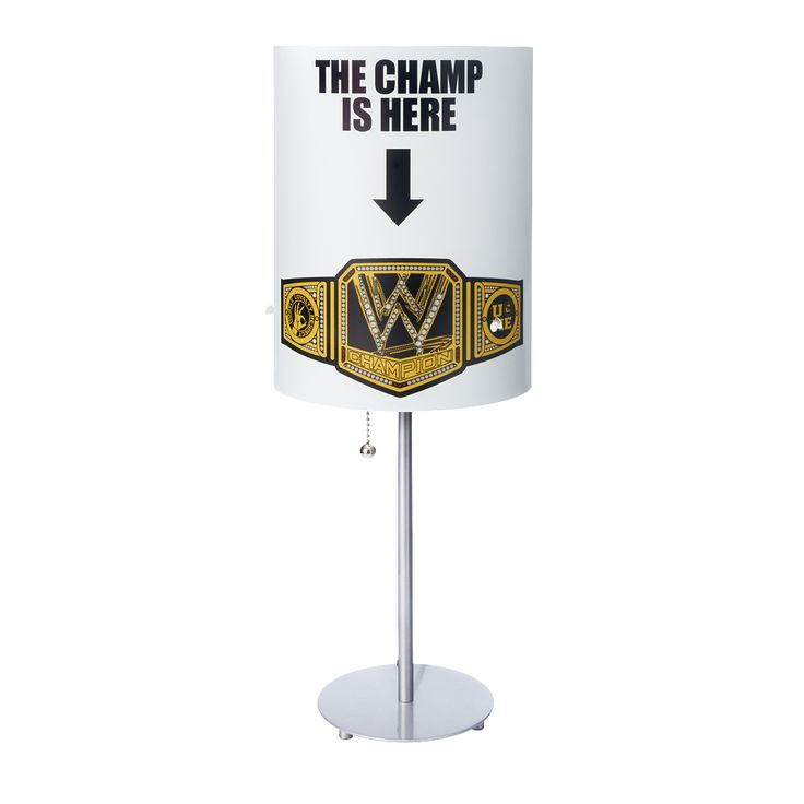Wwe Superstar Lamps Add A Unique Yet Affordable Style To Any Home Decor Fun