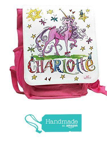 Kindergartenrucksack mit Namen, Einhorn, Unicorn, Rosirosinchen, personalisierter Kinderrucksack von der RosiRosinchen