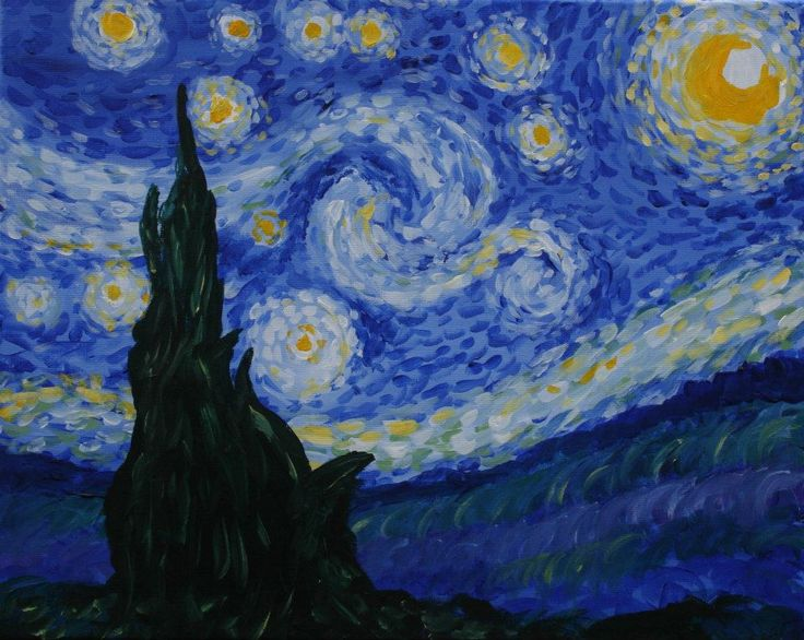 best van gogh images starry nights bedroom wall  ladies night at mike nick s starry night