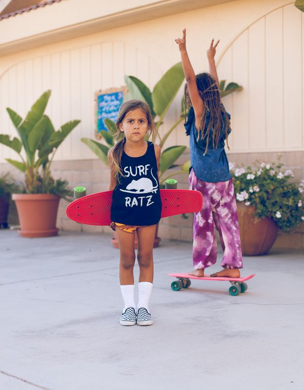 Tank: Knox  Lola   Shorts: Children of the Tribe   Shoes: Vans