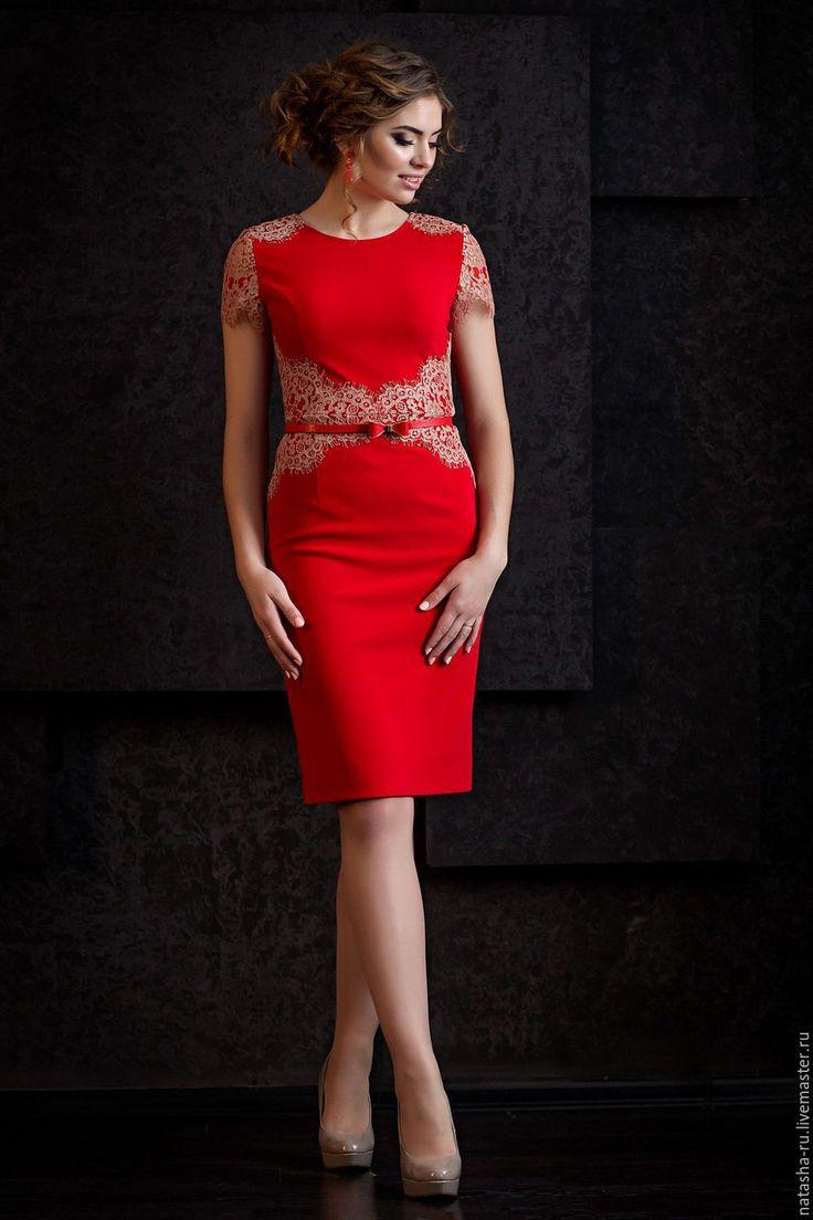 Войткив т фото в красном платье
