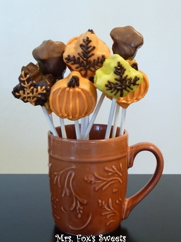 for the wedding cake 17 best ideas about fall cake pops on pumpkin 14415