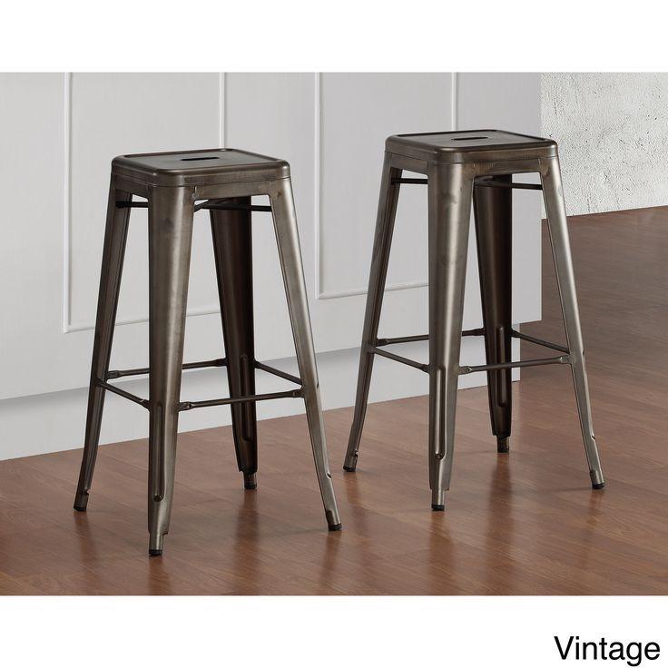 Tabouret Vintage Bar Stools 9283182 (Set of  sc 1 st  Pinterest & Best 25+ Vintage bar stools ideas on Pinterest | Bar stool White ... islam-shia.org