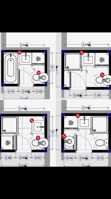 Transforming Small Bathrooms In Just 6 Easy Steps Small Inside Amazing 5 7 Bathroom Layout V 2020 G Shema Vannoj Komnaty Nebolshie Vannye Komnaty Kroshechnye Vannye Small bathroom design plans