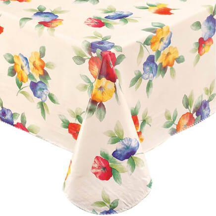 Miles Kimball's dining room and kitchen tablecloths and table cover selection includes linen table covers as well was kitchen table covers in vinyl.
