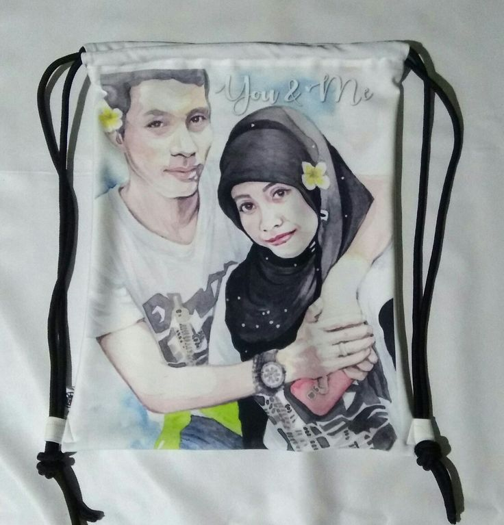 Drawstring Bag Made-to-order  from Commission Art