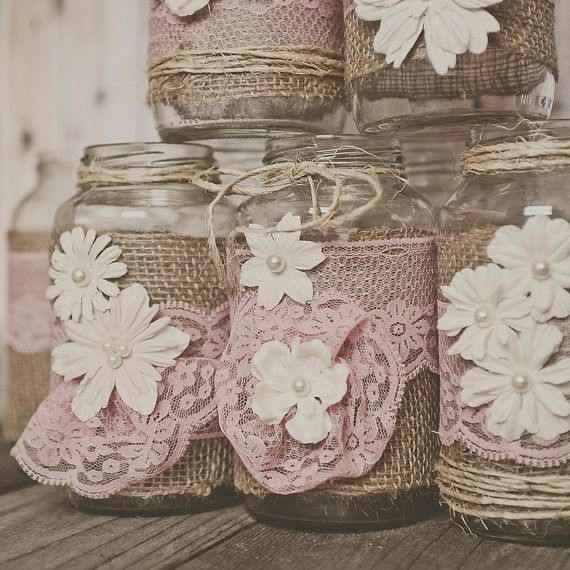 Rustic Wedding~ Burlap and Lace