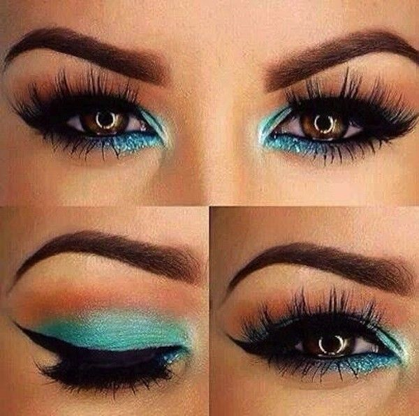 Trucco occhi castani #makeup #summer