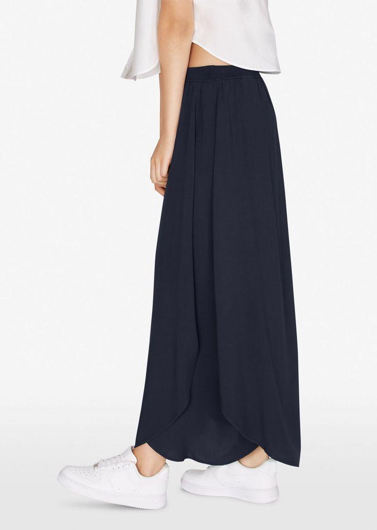 MARC O'POLO, Damen, Bekleidung, Röcke, Langer Rock, mit elastischem Bund