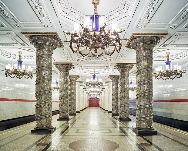 Moscow's metro stations – in pictures