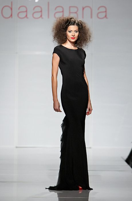 Daalarna Evening Dress - City Collection on the Runway