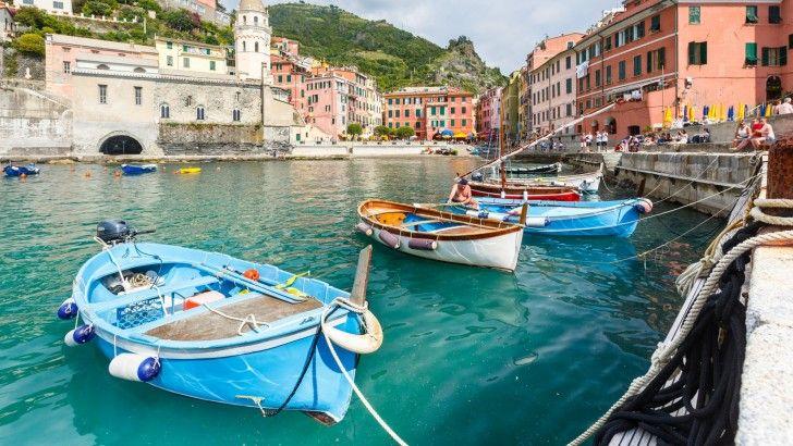 Vernazza Italia Cinque Terre Costa De Liguria