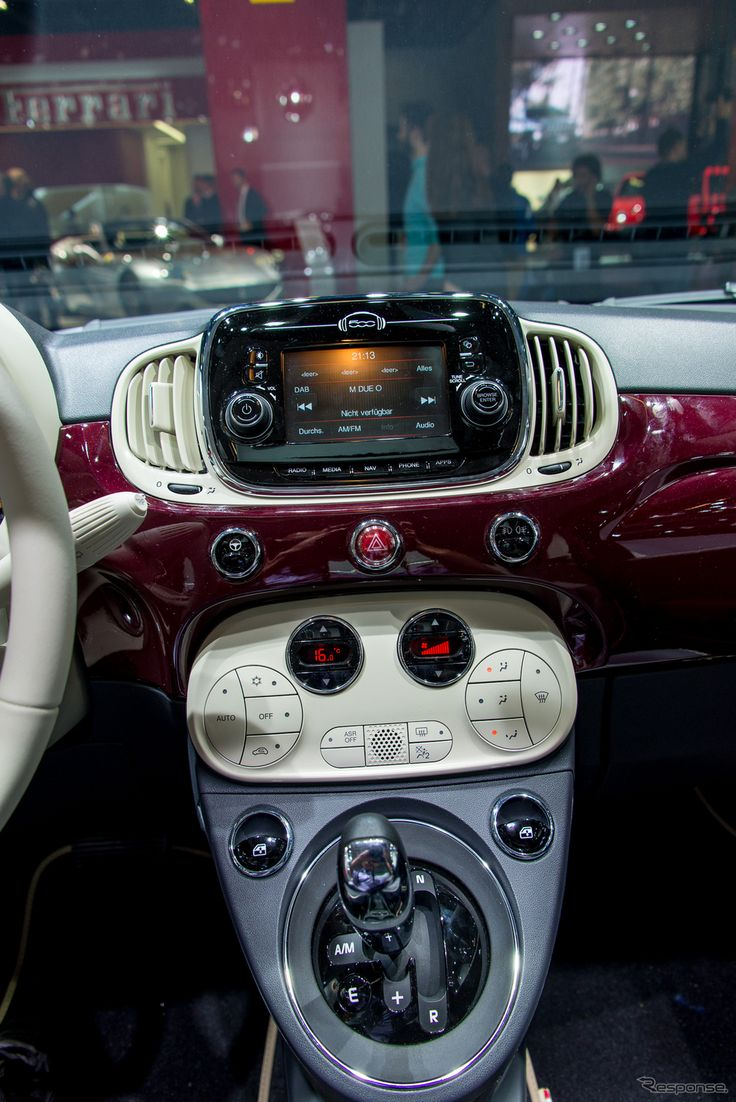 FIAT 500 Model 2016 (At Frankfurt Motor Show 15): Photo Via Response.jp (http://response.jp/article/2015/09/27/260849.html)