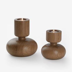 Globe Candle Holders   Wooden Candle Holders   Simply Tabletop UK