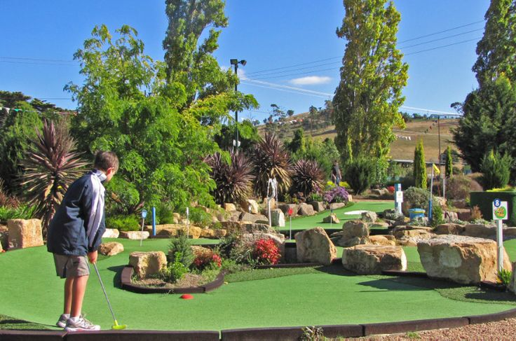 Barilla Putt and Play, Cambridge. Article and photo for Think #Tasmania.