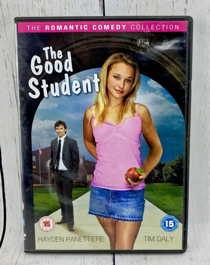 DVD The Good Student Region 2 PAL Film Movie Romantic Comedy hayden panettiere