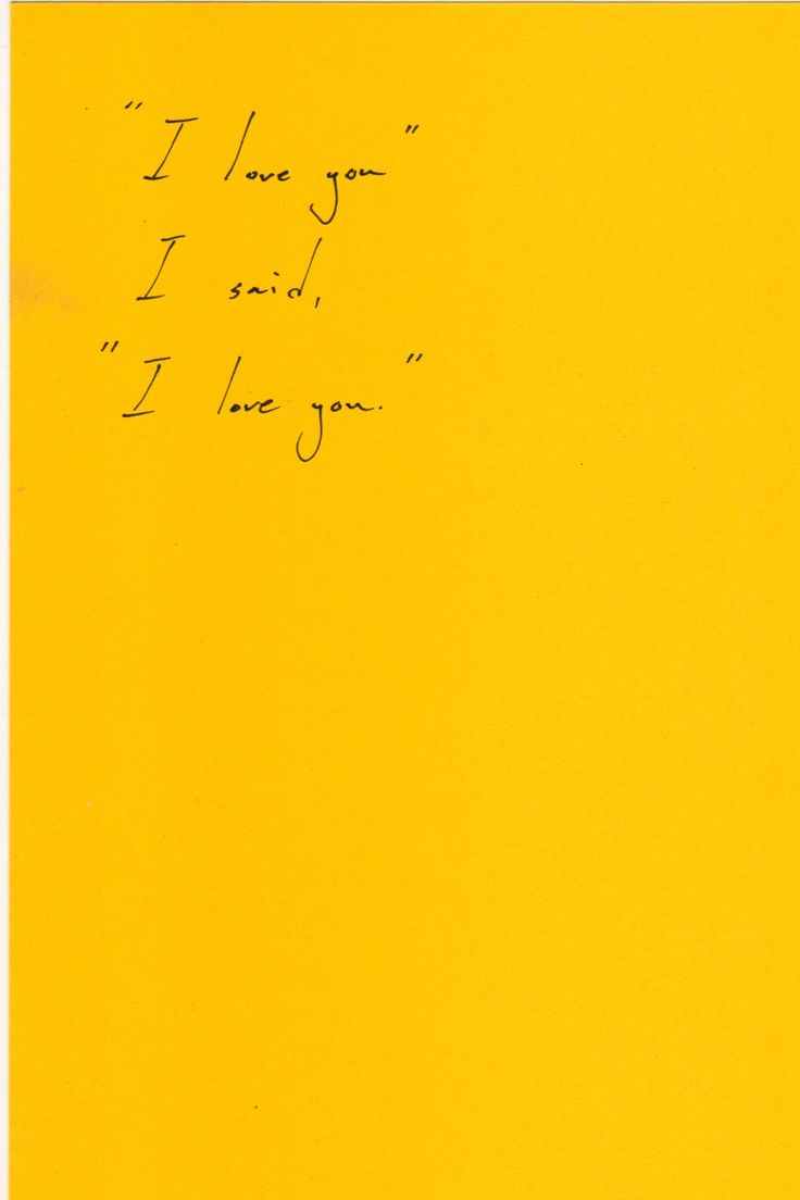 yellow love quotes