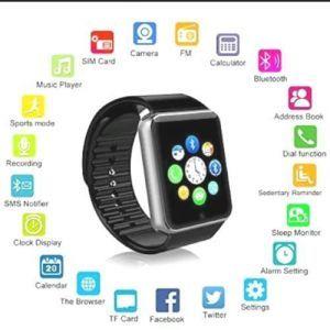 Sicario Moda Ap01 Black Smart Watch
