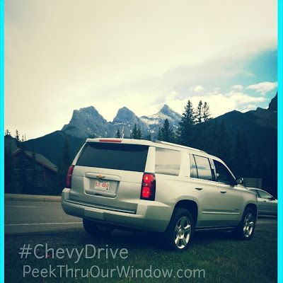 Peek thru our window....: The 2015 Chevy Tahoe is All-Terrain Ready - #ChevyDrive