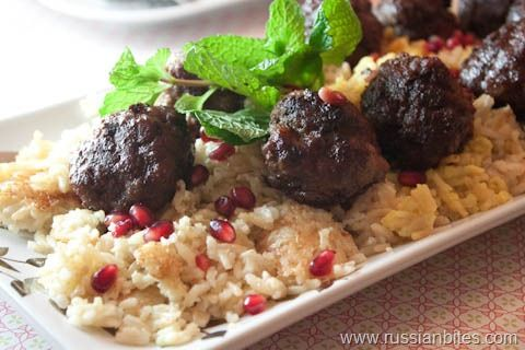 Azerbaijani meatballs