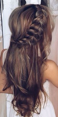 Balayage with braid #gorgeoushair