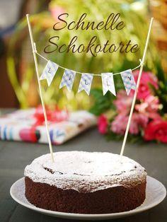 #schokolade #kuchen #torte #schnell #schokotorte #schokokuchen